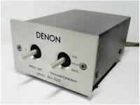 DENON AU-320 Step Up Transformer MC Cartridge Moving Coil Phono Made In Japan
