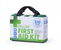 210 PCS Deluxe Emergency First Aid Kit Family Medical Travel Set Waterproof