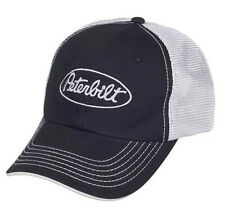 Peterbilt Trucks Motors Mesh Back Black Trucker Cap/Hat