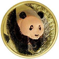 China 2017 - Panda - ANA Denver Münzmesse - 30 gr. Tri-Metall PP