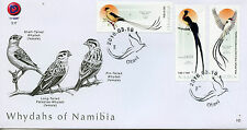 Namibia 2016 FDC Whydahs of Namibia 3v Cover Birds Shaft-Tailed Whydah Stamps