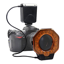 Macro LED Ring Flash Light for Canon Eos Digital Camera 5D Mark iii iv 80D 60D
