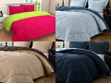 1800 Counts Reversible Microfiber Super Soft Comforter Solid Colors 6 Pcs Set