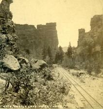 ca 1880 Castle Gate, Utah photograph by William Henry Jackson
