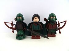 figurines Lego Lord Of The Rings - Custom Gondor  Ithilien Rangers x3  9470 9471