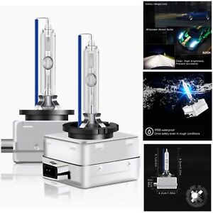 2 x 8000k D3S HID Xenon OEM Replacement Headlight Bulbs Porsche VW Audi Ford