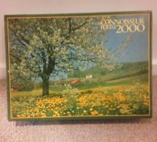 """NEW- Connoisseur Jigsaw Puzzle ~ 2000 Pieces """"Blossom Time"""" New"""