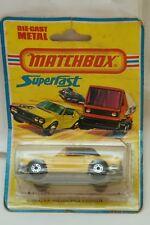 VINTAGE MATCHBOX SUPERFAST CAR MERCEDES TOURER 8 LESNEY ENGLAND 1975 MIP MOC