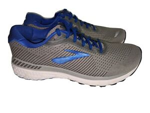 NEW- Brooks Adrenaline GTS 20 Running Shoes Blue/ Gray 10 D MSRP $160