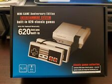 Mini Retro Game Anniversary Edition Console Classic 8 bit 620 games built-in Us