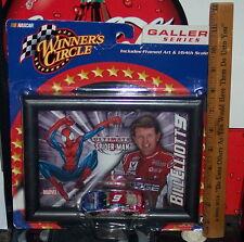 Nascar Bill Elliott #9 Winner's Circle Framed Art/Diecast Car/Spider-Man/Dodge