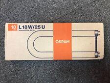 Osram Fluorescent Tube T8 U Shape 18W White ** FREE P&P **