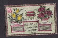 Ancienne étiquette allumettes Japon BN81170 Tonquin Indochine Fleur