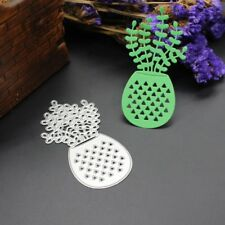 Potted Plants Cutting Dies Stencil Scrapbook Paper Cards Craft Embossing DIY