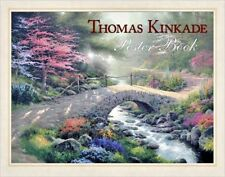 NWT THOMAS KINKADE POSTER BOOK 20 POSTER PAINTINGS SERIOUS COLLECTORS SEALED