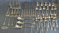 Reed & Barton Select La Boheme Stainless Steel Flatware 45pc Set