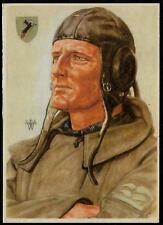 Germania TERZO REICH SECONDA GUERRA MONDIALE LUFTWAFFE Stuka Junkers Ju (87) cartolina Pilota