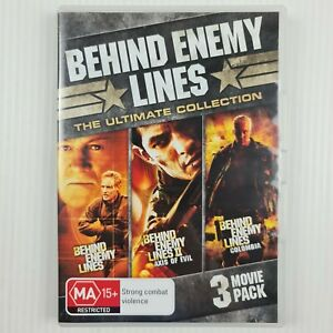 Behind Enemy Lines Ultimate Collection -3 Movie Pack DVD - R4 - TRACKED POST