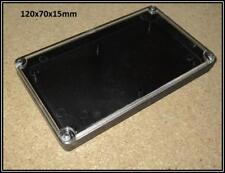 Gehäuse mit Klarsichtdeckel extra schmall ca.120x70x15mm CASE BOX DOSE 1 Stück