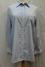 NWT Equipment Femme Blue White Striped Button Front Blouse Tunic Top L Large