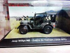 JEEP WILLYS MB GUERRA DE VIETNAM  ( 1958-1975)  escala 1/43 NOREV