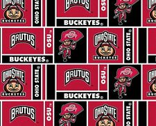 OHIO STATE COTTON FABRIC-OHIO STATE COTTON QUILTING FABRIC-NEWEST DESIGN-OHS094
