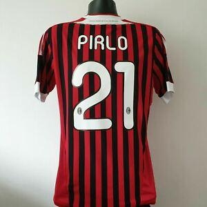 PIRLO 21 AC Milan Shirt - Medium - 2011/2012 - Home Jersey Adidas