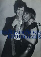 THE ROLLING STONES PHOTO Book FEATURING KEITH RICHARDS 1988 Japan