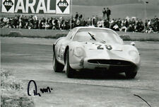 REINHOLD JOEST HAND SIGNED PORSCHE 6X4 PHOTO 4.