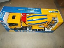 Bruder Toys - Scania R-Series Cement Mixer Truck Toy - NEW IN BOX
