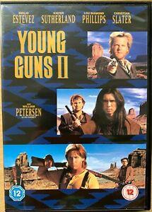Young Guns II DVD 2 Billy the Kid Western with Emilio Estevez Kiefer Sutherland