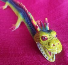 IMPERIAL Toys 1979 Rubber CHINESE DRAGON GREEN RED YELLOW VERSION RARE