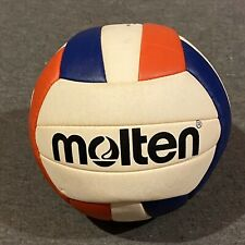 Molten Red White Blue Mini Volleyball USA Colors (used) Free Ship