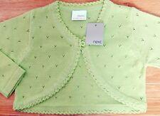 Marks /& Spencer Green Aran Style Cardigan0-12 MonthsBrand New