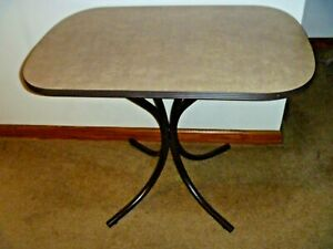 CRAMCO INC. - JAVA CAPPUCCINO BISTRO DINING TABLE - SEATING FOR 2 - BROWN CAFE