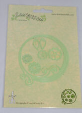 Leane Creatief Corte Die Remolino Círculo y Flores 7674
