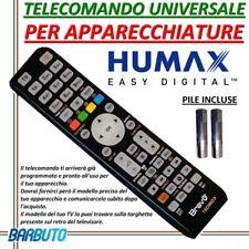 TELECOMANDO UNIVERSALE PER DECODER HUMAX CON PILE INCLUSE MODELLO HD 5600S