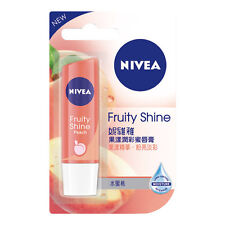 [NIVEA] Fruity Shine PEACH Intensive Moisturizing Tinted Lip Balm 4.8g NEW