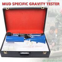 Slurry Test Kit Tool Mud Hydrometer Viscometer Marsh Funnel & Viscosity Cup NEW