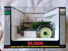 SpecCast 1/16  OLIVER  770 GAS TRACTOR W/ Checkered Board Grille