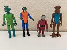 Star Wars Cantina Crew 1978 Original Greedo Hammerhead, Walrus Man, Snaggletooth