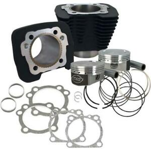 S&S Cycle 910-0692 1250cc Conversion Kit - Compression 11.2:1 - Silver