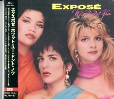 EXPOSE-WHAT YOU DON'T KNOW-IMPORT 3 CD WITH JAPAN OBI BONUS TRACK G30