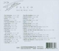 FALCO 'HOCH WIE NIE' 2 CD (JEWELCASE VERSION) NEUWARE