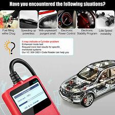 Automotive OBOII OBD2 Scanner Diagnostic Code Reader VC309 Car Diagnostic Tool