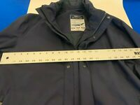ERMENEGILDO ZEGNA SPORT ZIPPED UP BLUE RAIN CAR COAT JACKET SIZE XL