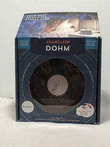 Marpac Dohm Original White Noise Machine 2 Speed Take Control Of Your Sleep!