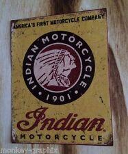 "Vintage / Retro / Oldschool Sticker "" Indian "" / Aufkleber Biker Bobber Chopper"