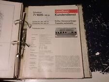 Nordmende Service Manual Radio Kadett uvm. 1 Stück aussuchen / choose 1 piece!