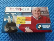 Hearing AssistReCharge Plus - Hearing Aid Set HA-802 BRAND NEW FOR BOTH EARS 💯